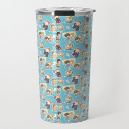 Chibilock Pattern Travel Mug