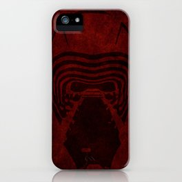 KYLO REN HELMET iPhone Case