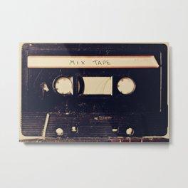 mix tape Metal Print
