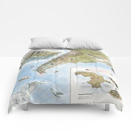 Cape Horn - Exploration AD 1616 Comforters