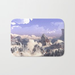 Cloud Canyon Bath Mat