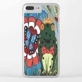 Frog Prince And His Kingdom Clear iPhone Case