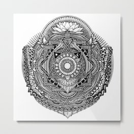 Metamorphic Metal Print
