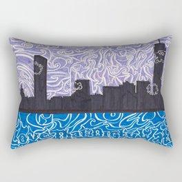 Love That Dirty Water Rectangular Pillow