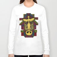 colombia Long Sleeve T-shirts featuring Colombia Art  by Adriana Mateus