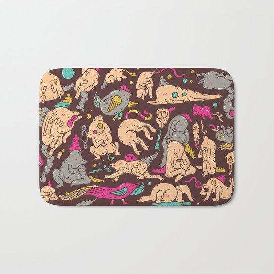 Doodle Land Bath Mat
