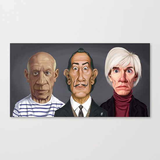 Great Artists Canvas Print