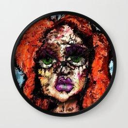 Irina Petrova by Brett Sixtysix Wall Clock