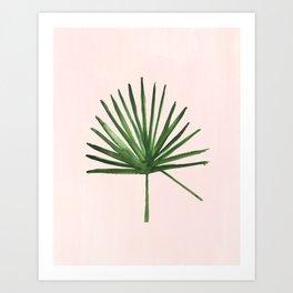 Windmill Palm Art Print