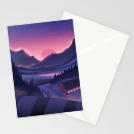 Evening On the Farm Stationery Cards