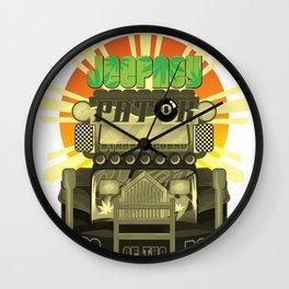 Jeepney Patok Wall Clock