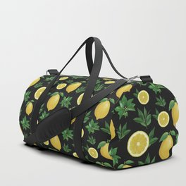 Lemon Love Duffle Bag