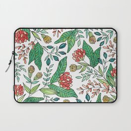 Wildflower Pattern - Full Color Laptop Sleeve