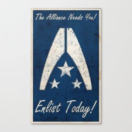 The Alliance Needs You! Canvas Print