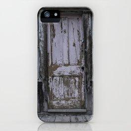 Pink Door iPhone Case