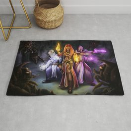 Three Mages Rug