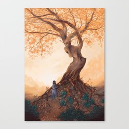 The Guardian of the Golden Grove Canvas Print