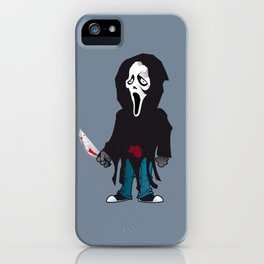Phantom Face iPhone Case