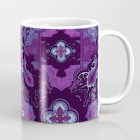 paisley Mugs featuring paisley by lizzie loves