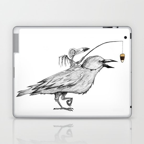 Bird Brain Laptop & iPad Skin