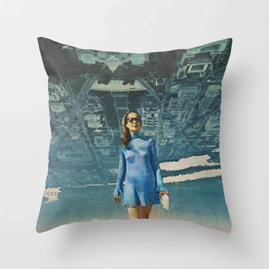 Amy White House Throw Pillow