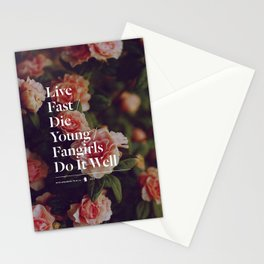 Fangirls Do It Well Stationery Cards