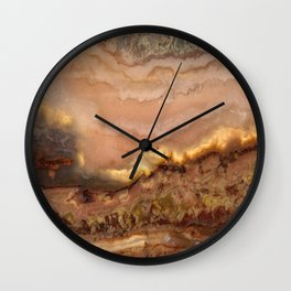 Idaho Gem Stone 34 Wall Clock