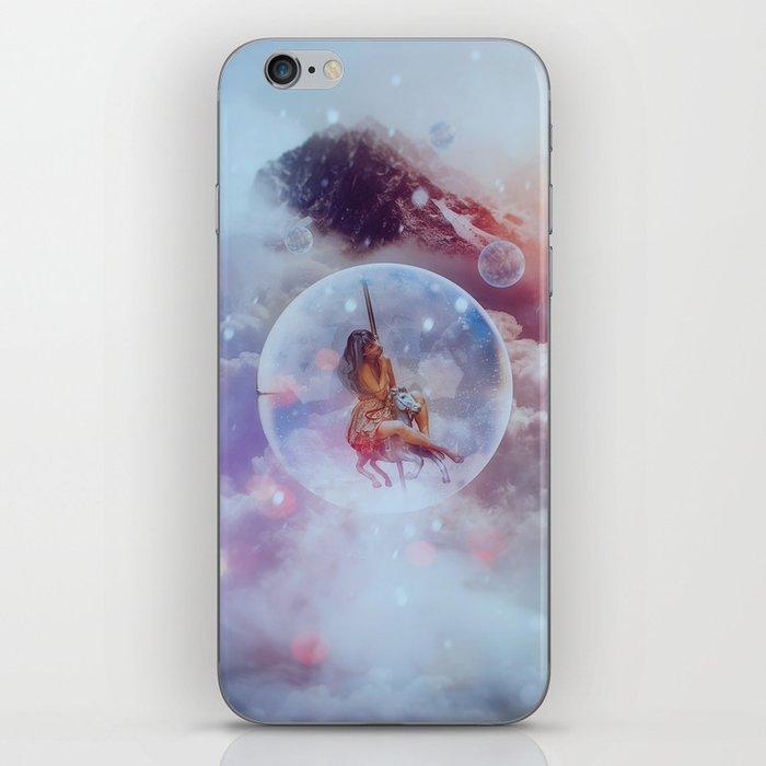 in the clouds iPhone Skin