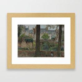 1928 · William FrederickYeames, On the Boulevards, Dinan Framed Art Print