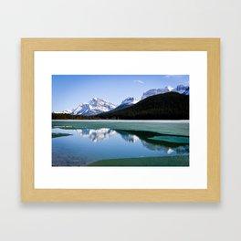 Banff to Jasper Framed Art Print