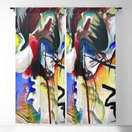 Wassily Kandinsky White Form II Blackout Curtain