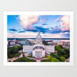 Wisconsin - June 2020 Art Print