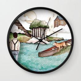 The Day We Saw the Sun Come Up Wall Clock