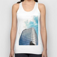 building Tank Tops featuring Big Building by Mauricio Santana