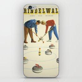 Vintage poster - Grindelwald iPhone Skin