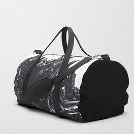 Stibnite; Or, The Edward Scissorhands Mineral Duffle Bag
