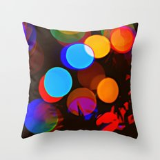 Twinkling Throw Pillow