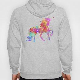 Watercolor Unicorn Hoody