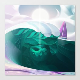 Finding Legends Canvas Print