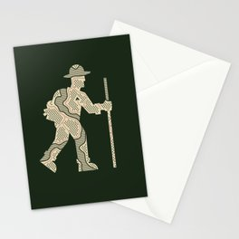 The Outdoorsman Stationery Cards