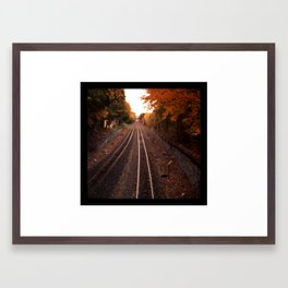 Going Away Framed Art Print