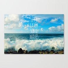 Wave Catcher Canvas Print