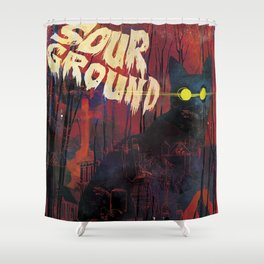 Sour Ground - Pet Sematary Tribute Shower Curtain