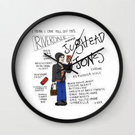 I Think I Can Pull Off This Riverdale Inspired Jughead Jones Costume Wall Clock