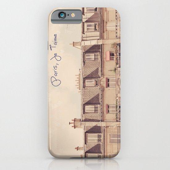 Paris Je T'aime iPhone & iPod Case