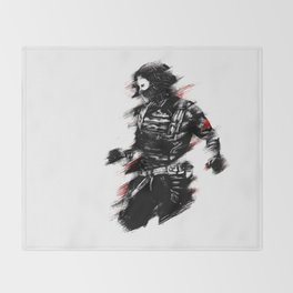 The Winter Soldier Throw Blanket
