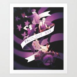 Poster Boys For Your Scene Art Print