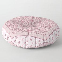 Six Knots Pale Pink Floor Pillow