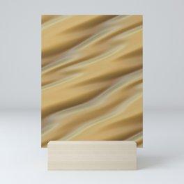 Beige yellow creme Mini Art Print