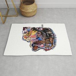 Skull II Homage to Basquiat Rug